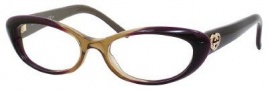 Gucci 3515 Eyeglasses Eyeglasses - 0W09 Shiny Brown