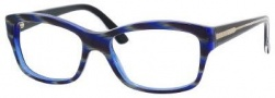 Gucci 3205 Eyeglasses Eyeglasses - 0Y0A Blue Green Black