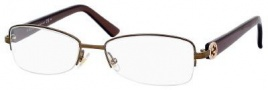 Gucci 2906 Eyeglasses Eyeglasses - 02V0 Brown