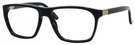 Gucci 1005 Eyeglasses Eyeglasses - 0807 Black / Antique Gold