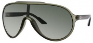 Gucci 1004/S Sunglasses Sunglasses - 0WRN Palladium Green (U5 Green Gray ss Lens)