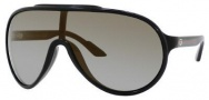 Gucci 1004/S Sunglasses Sunglasses - 0D28 Shiny Black (QG Gray Mirror Bronze Lens)