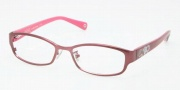 Coach HC5007 Eyeglasses Willow Eyeglasses - 9048 Satin Burgundy