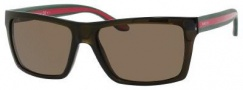 Gucci 1013/S Sunglasses Sunglasses - 053U Brown (SP Bronze Polarized Lens)