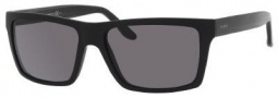 Gucci 1013/S Sunglasses Sunglasses - 052R Matte Black (3H Smoke Polarized Lens)