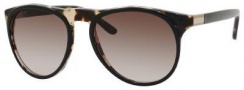 Gucci 1014/S Sunglasses Sunglasses - 04ZM Black Havana (HA Brown Gradient Lens)