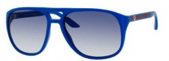 Gucci 1018/S Sunglasses  Sunglasses - 0I2D Blue (KX Dark Blue Gradient Lens)