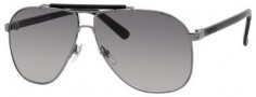 Gucci 2215/S Sunglasses Sunglasses - 0LKT Dark Ruthenium (EU Gray Gradient Lens)