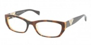 Prada PR 10OVA Eyeglasses Eyeglasses - 7S3101 Ivory Demo Lens
