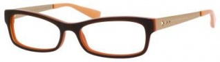 Marc by Marc Jacobs MMJ 517 Eyeglasses Eyeglasses - 07R4 Brown Orange / Gold