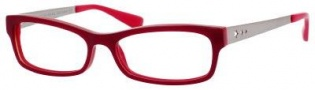 Marc by Marc Jacobs MMJ 517 Eyeglasses Eyeglasses - 07R3 Dark Red / Ruthenium