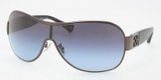 Coach HC7005B Sunglasses Reagan  Sunglasses - 901717 Dark Silver Black / Blue Gray Gradient