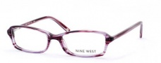 Nine West 401 Eyeglasses Eyeglasses - 0E5M Plum Sparkle
