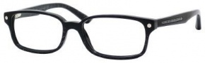 Marc by Marc Jacobs MMJ 489 Eyeglasses Eyeglasses - 0QI8 Black Striped
