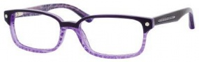Marc by Marc Jacobs MMJ 489 Eyeglasses Eyeglasses - 0QI9 Violet Lilac Striped