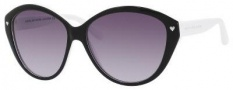 Marc by Marc Jacobs MMJ 289/S Sunglasses Sunglasses - 07U3 Black White (EU Gray Gradient Lens)