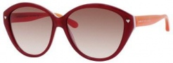Marc by Marc Jacobs MMJ 289/S Sunglasses Sunglasses - 07U1 Fuchsia Pink (BA Brown Gradient Lens)