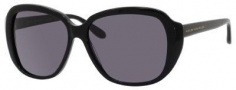 Marc by Marc Jacobs MMJ 290/S Sunglasses Sunglasses - 0807 Black (Y1 Gray Lens)