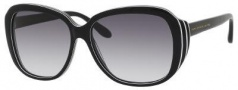 Marc by Marc Jacobs MMJ 290/S Sunglasses Sunglasses - 0U3X Striped Black (JJ Gray Gradient Lens)