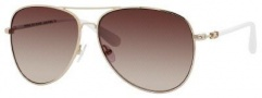 Marc by Marc Jacobs MMJ 299/S Sunglasses  Sunglasses - 0DLA Gold White (02 Brown Gradient Lens)