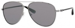 Marc by Marc Jacobs MMJ 299/S Sunglasses  Sunglasses - 085K Ruthenium Black (VS Silver Mirror Lens)