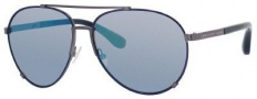 Marc by Marc Jacobs MMJ 301/S Sunglasses Sunglasses - 082T Blue Shiny (T7 Blue Mirror Lens)