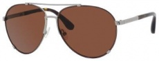 Marc by Marc Jacobs MMJ 301/S Sunglasses Sunglasses - 0827 Brown Ruthenium (8U Dark Brown Lens)