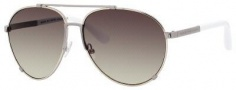 Marc by Marc Jacobs MMJ 301/S Sunglasses Sunglasses - 0828 Gold Ruthenium White (ED Brown Gradient Lens)