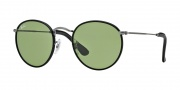 Ray-Ban RB3475Q Sunglasses Sunglasses - 029/14 Matte Gunmetal / Crystal Green