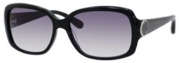 Marc by Marc Jacobs MMJ 302/S Sunglasses Sunglasses - 0807 Black (JJ Gray Gradient Lens)