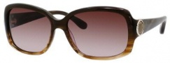 Marc by Marc Jacobs MMJ 302/S Sunglasses Sunglasses - 0LE6 Striated Brown (CC Brown Gradient Lens)