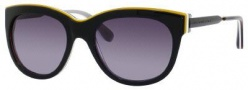 Marc by Marc Jacobs MMJ 305/S Sunglasses - 083G Black Brown White (HD Gray Gradient Lens)