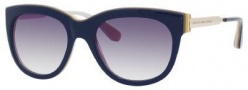 Marc by Marc Jacobs MMJ 305/S Sunglasses - 083S Blue Powder (JJ Gray Gradient Lens)