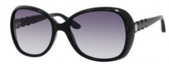 Marc by Marc Jacobs MMJ 317/S Sunglasses Sunglasses - 0D28 Shiny Black (JJ Gray Gradient Lens)