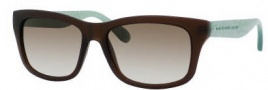 Marc by Marc Jacobs MMJ 261/S Sunglasses Sunglasses - 0XMH Matte Brown Green (DB Brown Gray Gradient Lens)