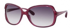 Marc by Marc Jacobs MMJ 266/S Sunglasses Sunglasses - 01V5 Violet Transparent (9C Dark Gray Gradient Lens)