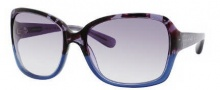 Marc by Marc Jacobs MMJ 268/S Sunglasses Sunglasses - 01PK Blue Havana (LF Gray Gradient Lens)