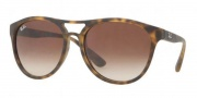 Ray-Ban RB4170 Sunglasses Brad Sunglasses - 865/13 Rubberized Havana / Brown Gradient