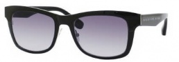 Marc by Marc Jacobs MMJ 271/S Sunglasses Sunglasses - 025K Ruthenium Black (LF Gray Gradient Lens)