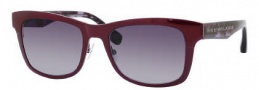 Marc by Marc Jacobs MMJ 271/S Sunglasses Sunglasses - 024Z Ruthenium Burgundy Havana (JJ Gray Gradient Lens)