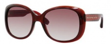Marc by Marc Jacobs MMJ 273/S Sunglasses Sunglasses - 01UF Burgundy Hearts (FM Brown Violet Shaded Lens)