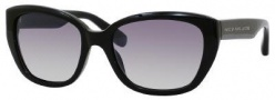 Marc by Marc Jacobs MMJ 274/S Sunglasses Sunglasses - 0CLB Black (IC Gray Mirror Gradient Silver Lens)