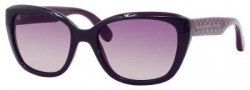 Marc by Marc Jacobs MMJ 274/S Sunglasses Sunglasses - 023U Transparent Purple Violet (3X Pink Gradient Lens)
