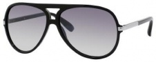 Marc by Marc Jacobs MMJ 276/S Sunglasses Sunglasses - 0D28 Shiny Black (IC Gray Mirror Gradient Silver Lens)