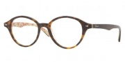 Ray Ban RX5257 Eyeglasses Eyeglasses - 5057 Top Dark Havana on Bei