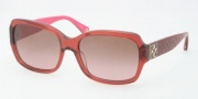 Coach HC8001 Sunglasses Emma Sunglasses - 505414 Burgundy / Brown Pink Gradient
