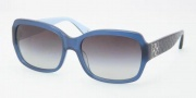 Coach HC8001 Sunglasses Emma Sunglasses - 505611 Blue / Gray Gradient