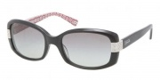 Coach HC8003A Sunglasses Lillian  Sunglasses - 503411 Black / Grey Gradient