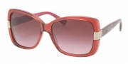 Coach HC8004 Sunglasses Harper Sunglasses - 50328H Burgundy / Burgundy Gradient