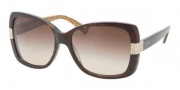 Coach HC8004 Sunglasses Harper Sunglasses - 503313 Dark Tortoise / Brown Gradient